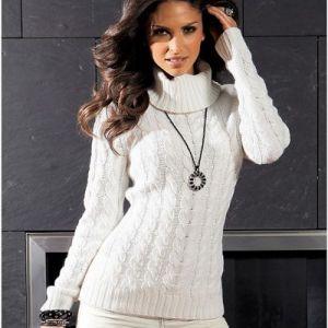 Як підібрати білий светр