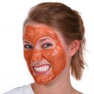 Червона глина для йдучи за шкірою