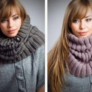 Модні шарфи осінь-зима 2013-2014 - віддаємо перевагу в`язаним і хутряним виробам