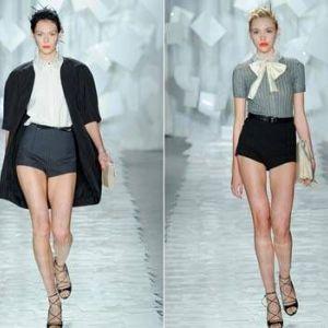 Оголюємо ніжки до літа - мода на шорти 2012 року