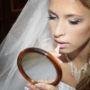 Весільний макіяж для шатенок