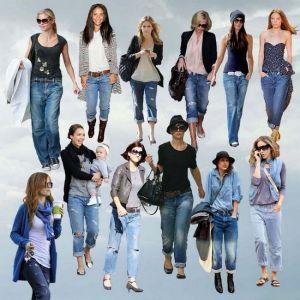 Жіночі модні джинси